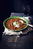 Faki (Greek vegetable & Lentil soup)