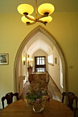 A view of Gerhart Hauptmann's 'Haus Seedorn' in Kloster on Hiddensee with all original furnishings and decorations