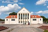 Außenansicht des Festspielhauses Hellerau, erbaut 1911, heute Zentrum für modernen Tanz