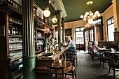 The traditional pub Anno 1905 in Hamburg