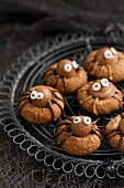 Spinnen-Cookies für Halloween