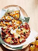 Easy pizza 2 ways