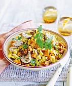 Tuna, corn and kumara pilaf
