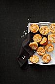 Quark muffins with oats and mandarins
