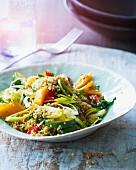 Quinoa and vegetable pilau