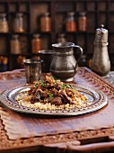 Beef tagine with onions (North Africa)