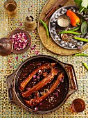 Rose chilli ribs (North Africa)