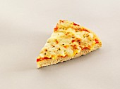 A slice of cheese pizza