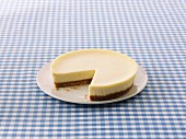 New York Cheesecake, sliced