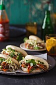 Gua bao sandwiches with pork (China)