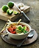 Oriental tomato soup