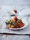 Auberginen-Tomaten-Salat aus Persien