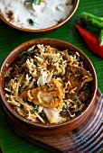Jack fruit biryani (fried rice with jack fruit)