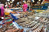 Noryangjin Fischmarkt, Seoul, Südkorea, Asien