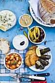Greek appetisers