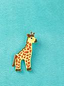 A giraffe biscuit
