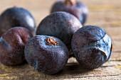 Juniper berries (close-up)