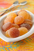 Sugared jelly fruits