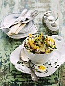 Fruity herring salad