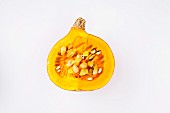 Half a Hokkadio pumpkin
