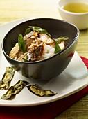 Doradenfilet auf Reis mit Salbei