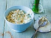 Griechischer Hirtenaufstrich aus Schafskäse und Joghurt