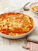 Blumenkohl-Salsiccia-Cannelloni