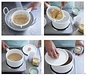 Amarant kochen und quellen lassen