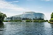 The European Parliament building, Strasbourg