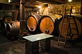 Cultured yeast is not used in this wine cellar, Jean Pierre Rietsch, Mittelbergheim, Alsace