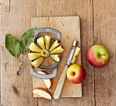 Apfelteiler und -ausstecher