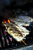 Izgara Levrek (grilled sea bass, Turkey)
