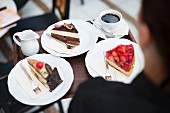 Cake at cafe 'Toscana' in Dresden