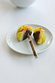 Wagashi chestnut (Japanese sweet)