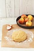 Pastry for apple tart
