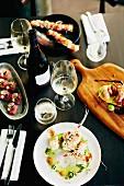 Verschiedene Speisen im Social Eating House (Queensland, Australien)
