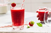Strawberry-watermelon smoothie