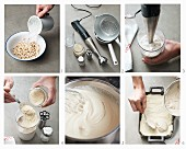 Veganen Cashewkäse für Aufläufe zubereiten