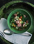 Green kale stew