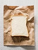 A slice of white bread
