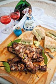 Espetada (grilled meat skewers from Portugal)