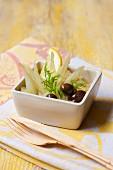 Fenchelsalat mit Zitronen und Oliven
