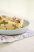Potato & spinach frittata