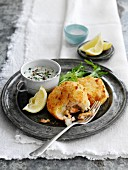 Fischfrikadellen mit Sauce Tartare