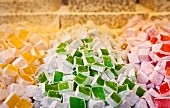 Turkish Delight on a market stall