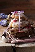 Colombine di Pasqua (Easter pastries, Italy)