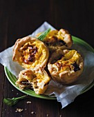Mini quiches with biltong