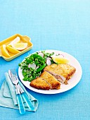 Crispy chicken kiev