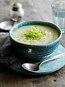 Classic leek and potato soup