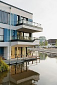 New build projects from the International Building Exhibition in Wilhelmsburg, southern Hamburg